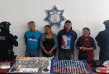 "Hermanos, ""Reina del Sur"", San Francisco Totimehuacan, Policía Estatal, cristal, marihuana, drogas, celular, Ministerio Publico"