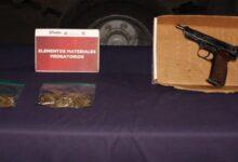 robo a casa habitación, banda delictiva, marihuana, arma de fuego, portación, detenidos, amoniaco, perros, ssc, código rojo