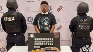 patrulla, detenido, disparos, policía estatal, huajoyuca, tepexi de rodríguez, código rojo