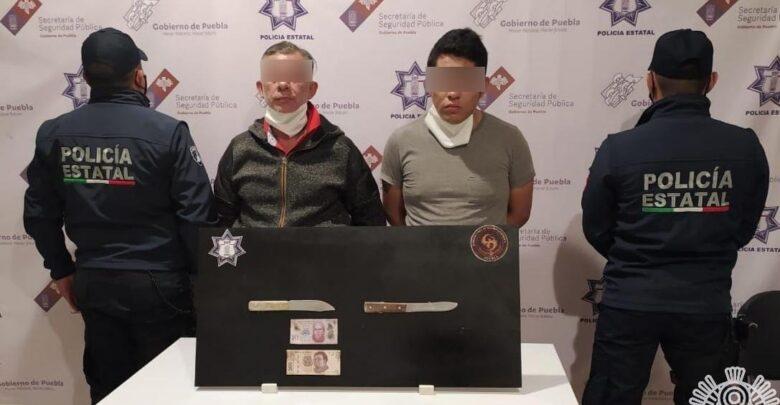 robo con violencia, acusados, cuchillos, amenazar, robo, código rojo