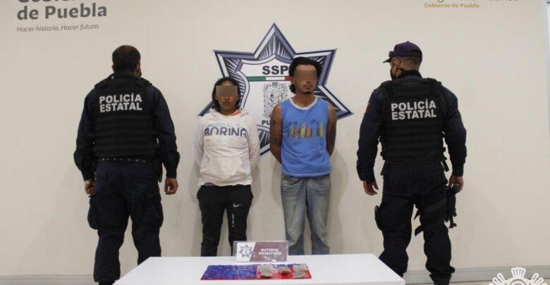 amozoc, puebla, detenido, narcomenudista, cristal, drogas, ssp, código rojo