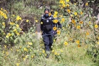 Pipa, Gas LP, herramienta, Santa María Xonacatepec, toma clandestina, SSC, Protección Civil Estatal, Guardia Nacional, PEMEX
