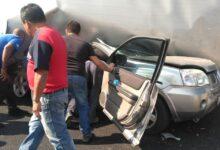autopista México-Puebla, accidente, muerto, lesionados, capufe, código rojo
