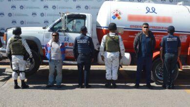 SSC, GN, gas Lp, pipa, San Pablo Xochimehuacán, DERI, PEMEX, la Secretaría de Protección Civil
