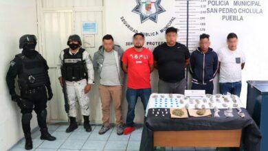 """banda """"Los Martillo"""", robo con violencia, equipo hidráulico, topográfico, zona metropolitana, marihuana, cristal, SSC, Guardia Nacional"""