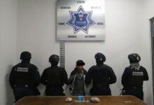 coronango, detenido, marihuana, posesión, san francisco ocotlán, delitos contra la salud, código rojo