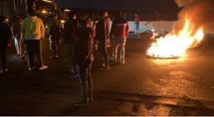 pobladores, bloqueo, santa rita tlahuapan, protesta, exigencia, ataque, sexual, joven, asalto, presidencia municipal, código rojo