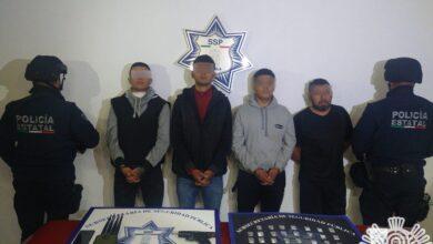 detenidos, cuaro, robo, tráiler, privación ilegal de la libertad, autopista, código rojo