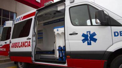 Lesionados, ambulancia, madre, hijo, Huexotitla, hospital, SUMA, personal de tránsito,