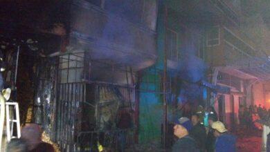 incendio, central de abastos, huixcolotla, daños materiales, código rojo