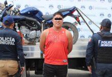 motocicleta, robada, sujeto, detenido, adolfo, reporte de robo, antecedentes penales, robo a negocio, código rojo