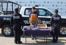 tienda oxxo, detenidos, menor de edad, ssc, policía municipal, camino a tlaltepango, código rojo
