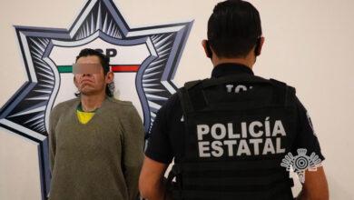 san felipe hueyotlipan, detenido, el sencho, drogas, posesión, robo, transporte público, código rojo