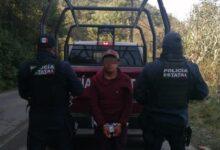 agentes, policía estatal, detenido, operativo, motocilista, homicida, orden de aprehensión, código rojo