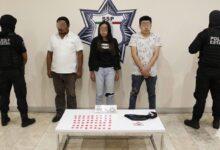presuntos narcomenudistas, detenidos, colonia santa maría, el chup´ón, la cuchilla, código rojo