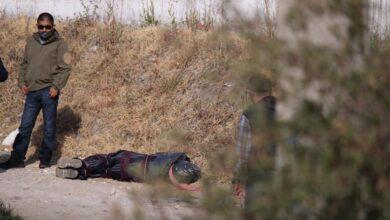 san jerónimo caleras, junta auxiliar, cadáver, encobijado, ejecutado, asfixiado, bolsa, cabeza, código rojo