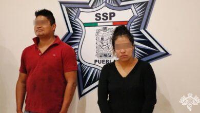 pareja, barrio de santiago, amozoc, drogas, robo. autopartes, vehículo, código rojo