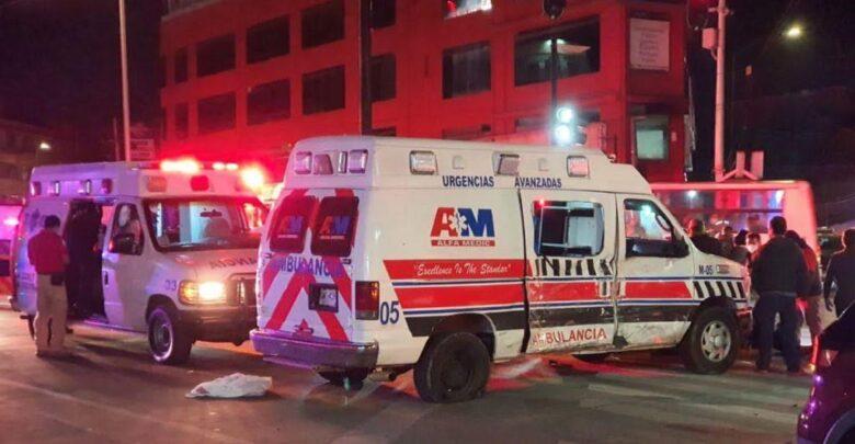ruta, 25, lesionados, choque, ambulancia, transporte público, traslado, protección civil municipal, código rojo