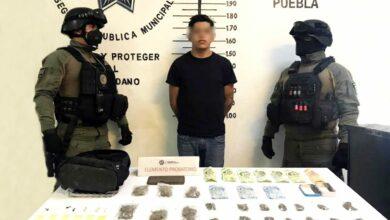 SSC, motocicletas, robo, Ministerio Público, Periférico Ecológico, heroína, marihuana, documentos, FGE