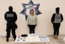 narcomenudeo, policía estatal, detención, mujer, el fercho, drogas, código rojo