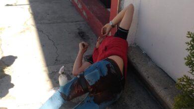 cuentahabiente, 300 mil pesos, robados, disparo, glúteo, lesionado, código rojo
