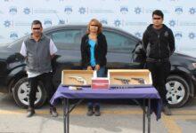san jerónimo caleras, detenidos, tres, posesión, arma de fuego, ssc, código rojo