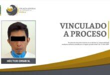 sujeto, acusado, robo de vehículo, fge, vinculación a proceso, código rojo