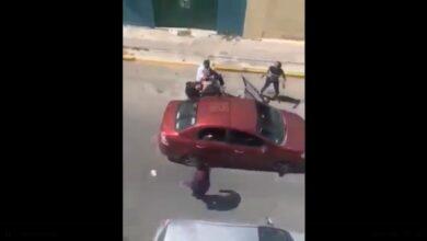 video, arresto, policías, civil, impactante, vecinos, colonia hidalgo, código rojo