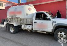 """SSP, huachigaseros, """"El Narizotas"""", combustible, pipa, Tepeaca, mercado Morelos"""