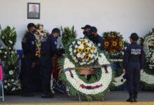 Homenaje, comandante, Pedro Sánchez Lima, emboscada, Jolalpan, ceremonia, SSP, aplausos,