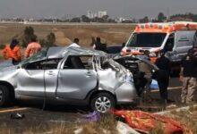 taxi pirata, muerte, lesionados, volcadura, Toyota, Protección Civil, SUMA, Cruz Roja, Ministerio Público