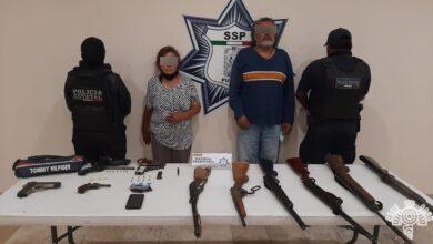 policía estatal, el masero, armas de fuego, posesión, código rojo