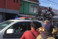los lavaderos, operativo, compañero, retención, policía auxiliar, comerciantes, vandalizar, patrulla, código rojo