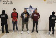 defraudadores, narcomenudistas, plazas amalucan, captura, tres, código rojo