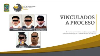 vinculación a proceso, detenidos, robo, fge, prisión preventiva, código rojo