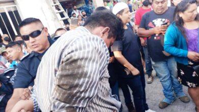 huauchinango asaltante, ministerio público, golpeado, código rojo