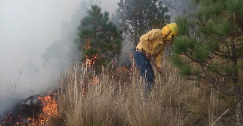 ixtacamaxtitlán, incendio, voluntario, fallecido, llamas, cerro, código rojo