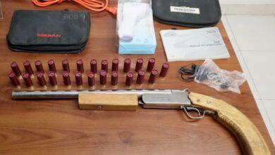 """Agentes policiales, """"Los Guzmán"""", Amozc, explosivo, cartuchos útiles, escopeta calibre 16, Acajete,"""