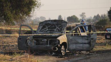 camioneta, persona, calcinada, carbonizada, muerto, fge, bomberos, fuego, ejecutado, código rojo