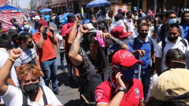 Enfrentamiento, grupos ambulantes, heridos, mercado La Victoria, palos, piedras, Coordinador General de Operatividad Policial, SSC, HERIDOS