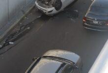 Auto, volcadura, protección civil, daños materiales