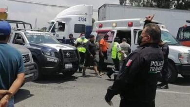Chilchotla, patrulla, choque, lesionado, elemento de la policía, paramédicos de SUMA, Cessa Amozoc, GN,