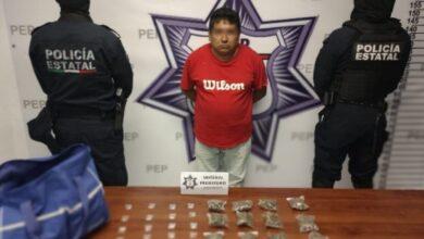SSP, narcomenudista, Periférico Ecológico, autoridades ministeriales, situación jurídica, marihuana, cristal