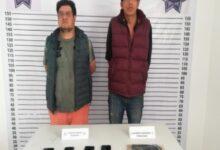 """Zacatlán, Policía Estatal, robo, camioneta, La Cumbre, """"El Pinolillo"""", """"El Potro"""", arma de fuego, delincuentes, carretera Interserrana,"""