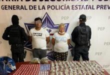 la patrona, policía estatal, la doña, la tía de analco, hijos, detenidos, código rojo