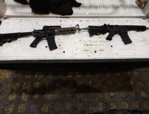 el buanas, detenidos, miembros, banda delictiva, posesión, armas de fuego, código rojo