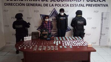 coronango, detenidos, dos, narcovendedores, cristal, marihuana, código rojo