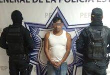 santa isabel cholula, narcomenudeo, detenido, posesión, droga, arma de fuego, código rojo