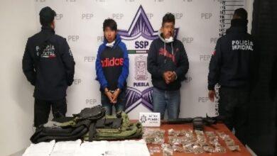 gas lp, amozoc, detenidos, drogas, posesión, pipa, policía estatal, disparos, persecución, código rojo