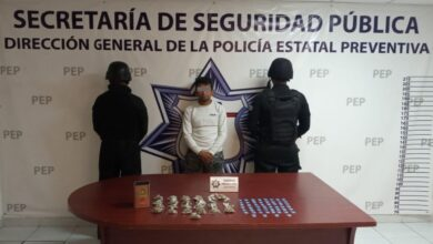 villa frontera, detenido, narcomenudista, el caballo, operador, drogas, posesión, código rojo